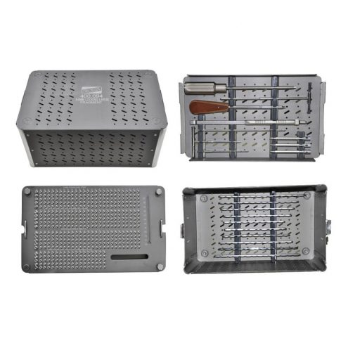 Graphic Combined Implant & Instrument Box For 5.0 MM Locking Large Fragment Set