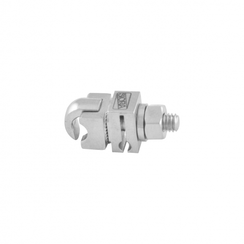Open Small Single Pin Clamp - 4.0 MM x 2.5 MM