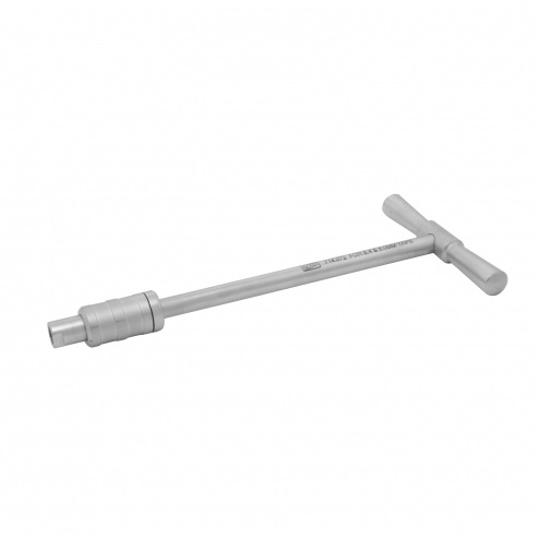 T Handle With Quick Coupling (For 6.4 MM & 8.0 MM Taps)