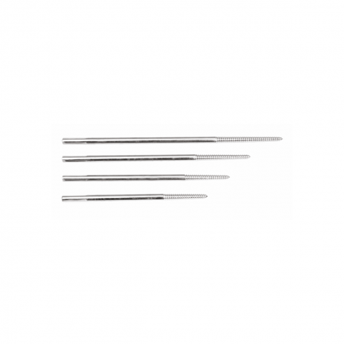 Tapered Threaded Pins Cortical Shaft