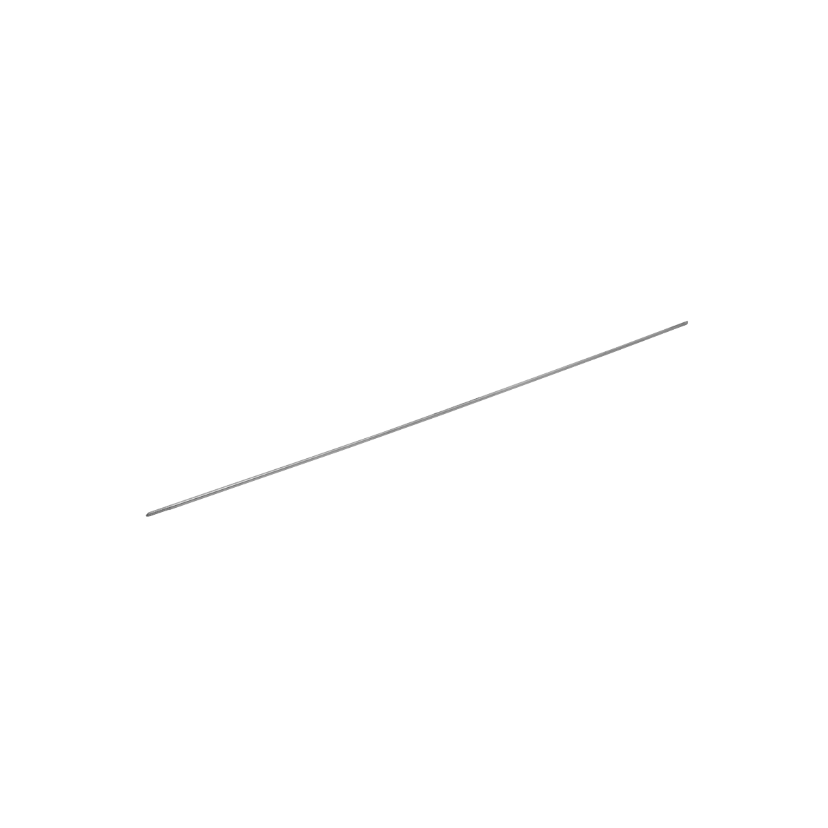 Threaded Guide Wire Dia. 2.5mm, Length 450mm