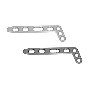 Locking Dorsal Distal Radius L- Plate Head 3 Holes, Angle 20 Deg. -2.7 MM