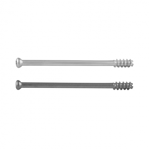 Large Cannulated Cancellous Screw 7.0 MM Dia. 16 MM Thread - Stainless Steel & Titanium