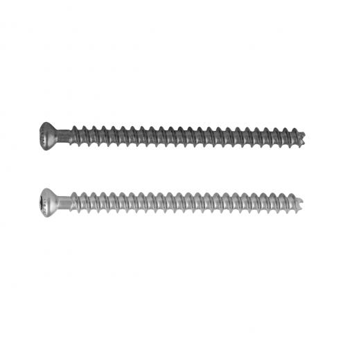 Small Cannulated Cancellous Screw 4.0 MM Dia. - Fully Threaded - Stainless Steel & Titanium