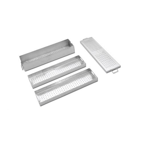 Instrument Box with Two Trays - Length 450 MM
