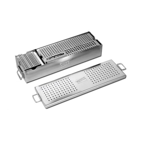 Screw Box Combine with Large & Small Screw Tray & Screw Holding Forceps for 3.5, 4.0, 4.5, 6.5 MM Screws