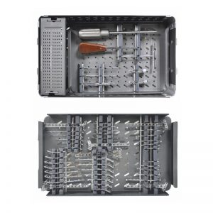 Graphic Combined Implant & Instrument Box For 2.7mm Locking Small Fragment