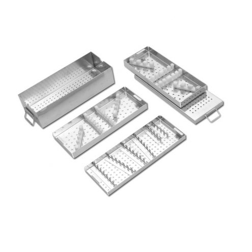 DHS & DCS Implant Box with Three Trays for DHS & DCS Screws & Plates
