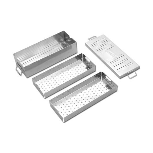 Instrument Box with Two Trays Length 300mm