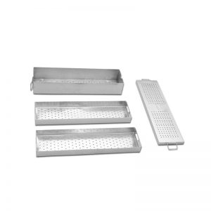 Instrument Box with Two Trays – Length 450mm