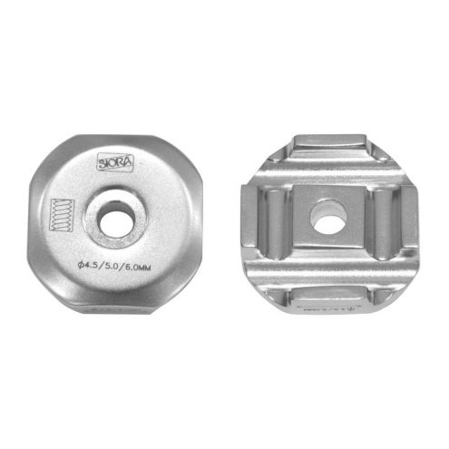 Fixing Element for Shanz Pin 4.5,5.0,6.0mm Without Thread - S.S
