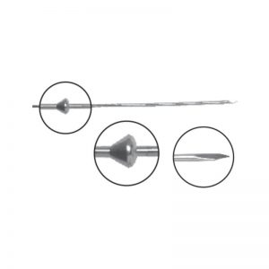 Olive Wire With Stopper – Bayonet Point (Pediatric)