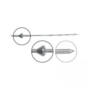 Olive Wire With Stopper – Trocar Point (Pediatric)