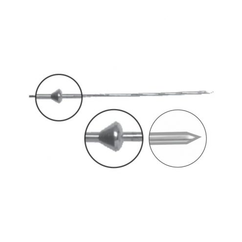 Olive Wire With Stopper - Trocar Point(Pediatric)