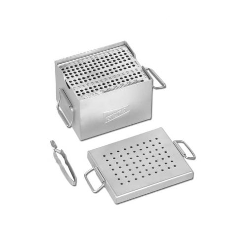 Small Screw Box with Screw Tray & Screw Holding Forceps for 3.5 Cortical, 3.5 Cacellous & 4.0 Cancellous Screws