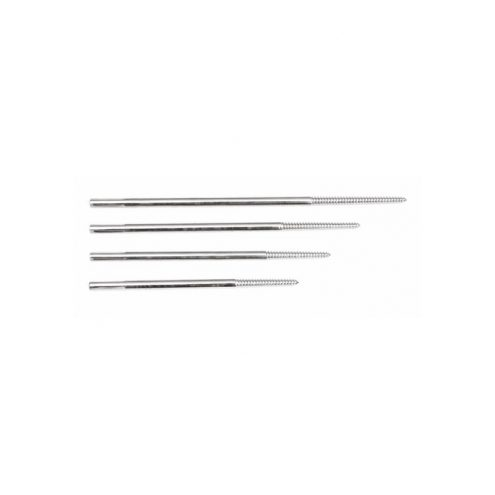 Tapered Threaded Pins Cortical Shaft 6.0mm, Tapered 6.0 to 5.0mm