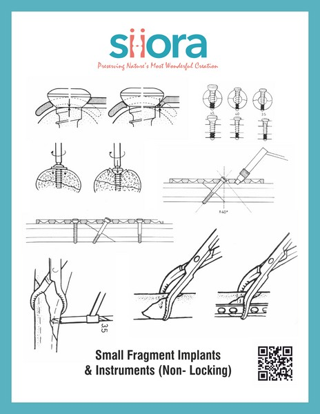 Small Fragment Implants Instruments Non Locking